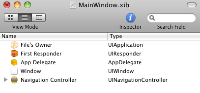 UINavigationController in your project
